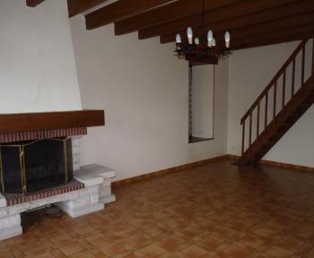 Location Maison de ville 3 pièces Luzillé (37150)